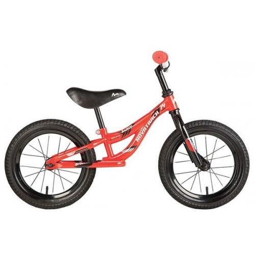 "Беговел 14"" Novatrack Breeze /красный/"