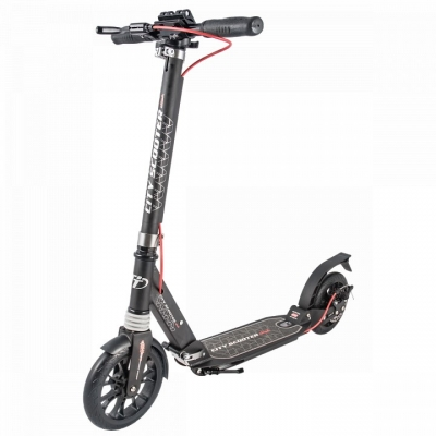 Самокат Tech Team City Scooter Disk /черный/