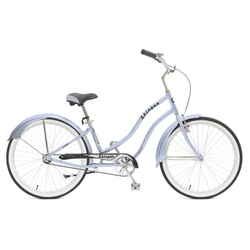 "Велосипед Stinger 26"" Cruiser Lady /синий/"