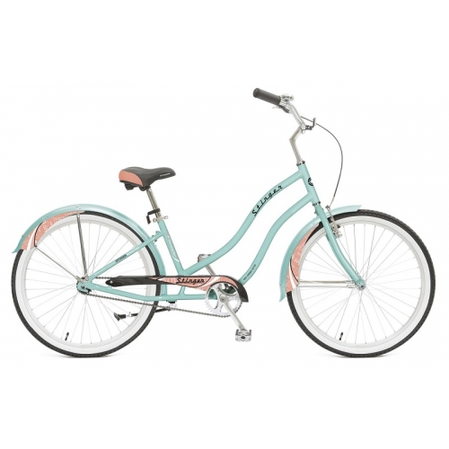 "Велосипед Stinger 26"" Cruiser Lady /зеленый/"