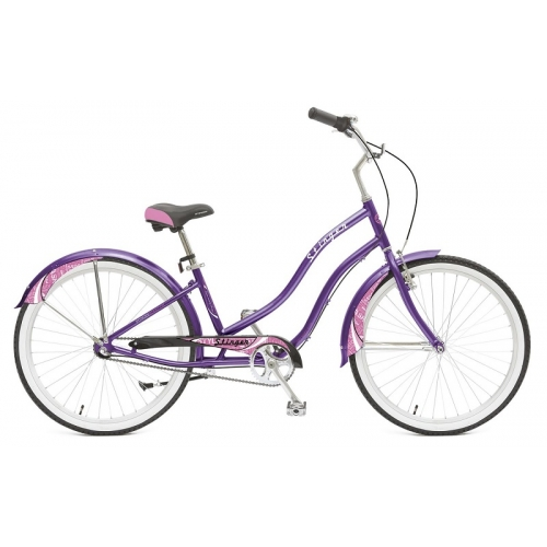 "Велосипед Stinger 26"" Cruiser Nexus Lady /фиолетовый/"